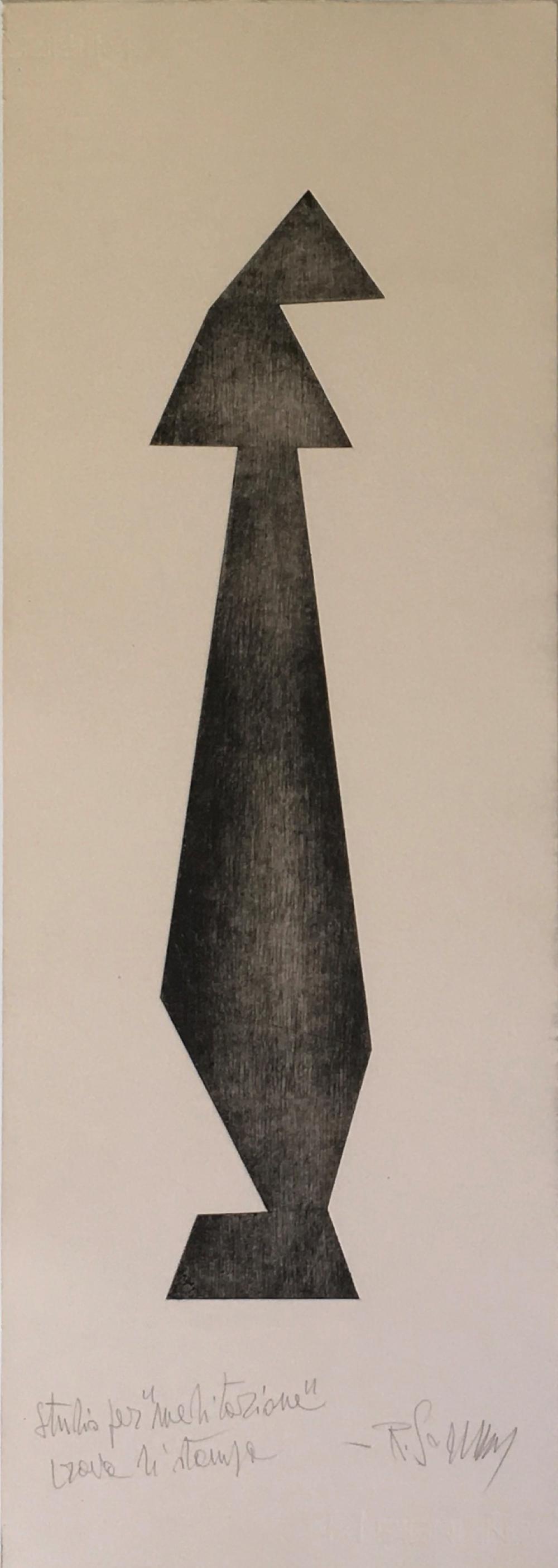 Sommaruga Renzo - Studio per Meditazione, 1955