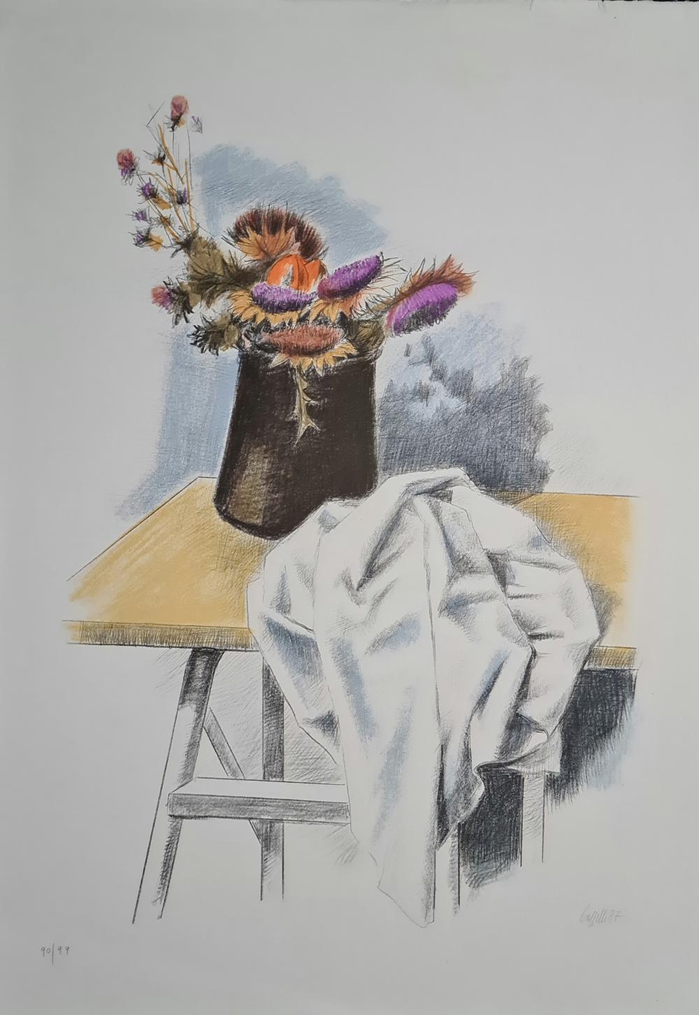 Cappelli Giovanni - Vaso di fiori