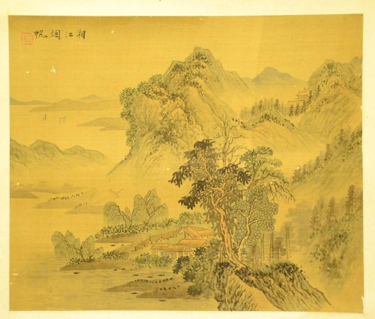CHINESE INK AND WASH PAINTING