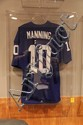 Eli Manning #10 Jersey Signed.  Blue Giants Jersey w/COA Hologram