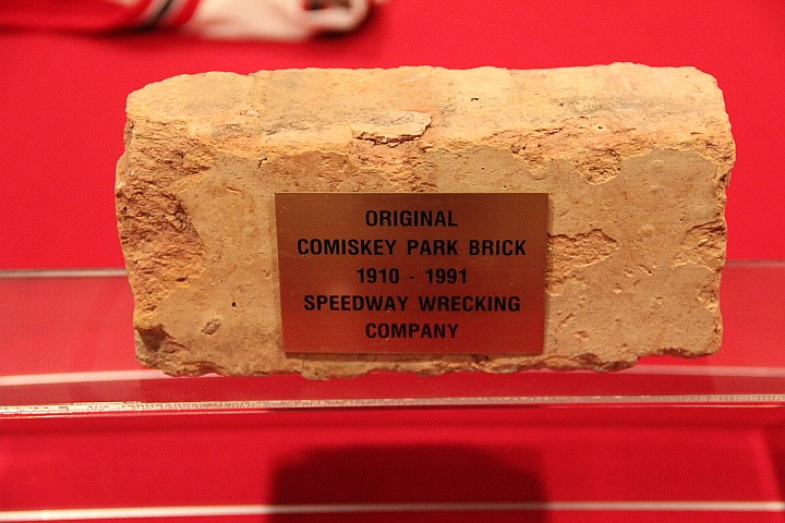 Comiskey Park Brick 1910-1991.  Last Game Played 9/30/1990