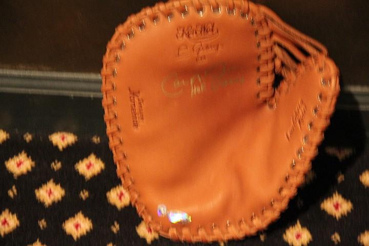 Baseball Glove Signed by Cal Ripken, Jr.