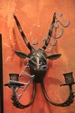 Deer Head Wall Candle Holder