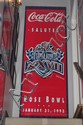 Rose Bowl Super Bowl Banner