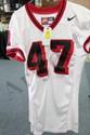 Edwards Game Worn Jersey #75 Visitor