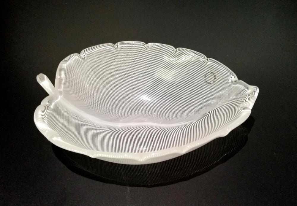 """Bowl of the """"Anni Trenta"""" series. Venini, Murano"""