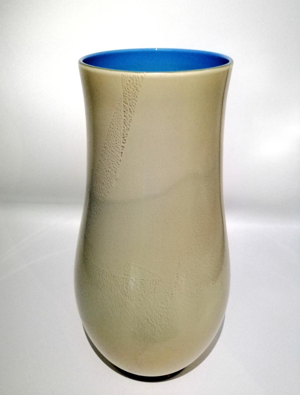 Opalini series vase. Venini, Murano