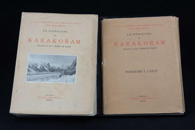 LA SPEDIZIONE NEL KARAKORAM E NELL'IMALAIA OCCIDENTALE 1909