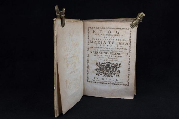 MARIA TERESA D'AUSTRIA. Pubblicazioni originali […]