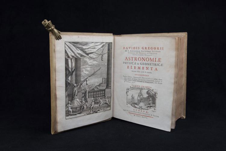 Gregory D. - ASTRONOMIAE PHYSICAE & GEOMETRICAE ELEMENTA