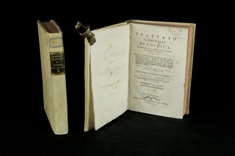 Lavoisier - (e Dandolo V.) - TRATTATO ELEMENTARE DI CHIMICA