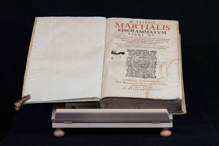 M. VALERII MARTIALIS EPIGRAMMATUM LIBRI XV