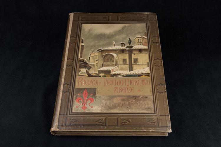 RICORDI DEL VECCHIO MERCATO DI FIRENZE (1887)