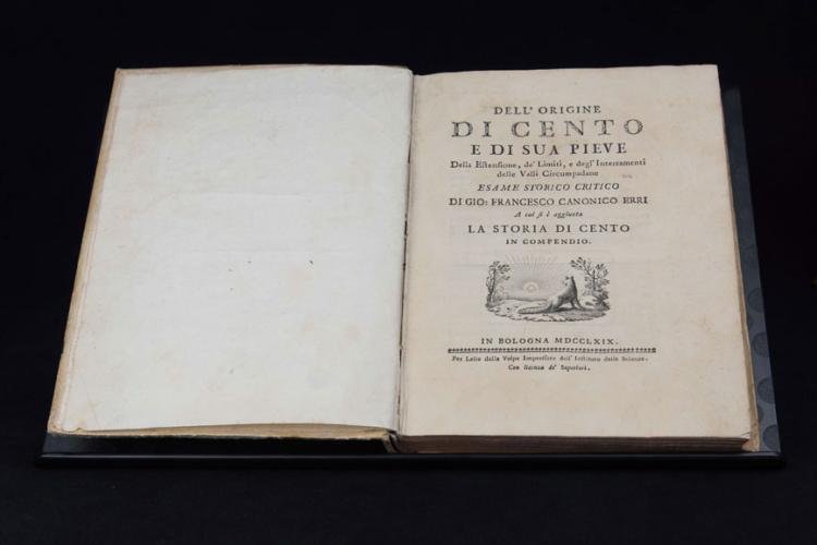 ErrI Gio. Francesco - DELL'ORIGINE DI CENTO E DI SUA PIEVE