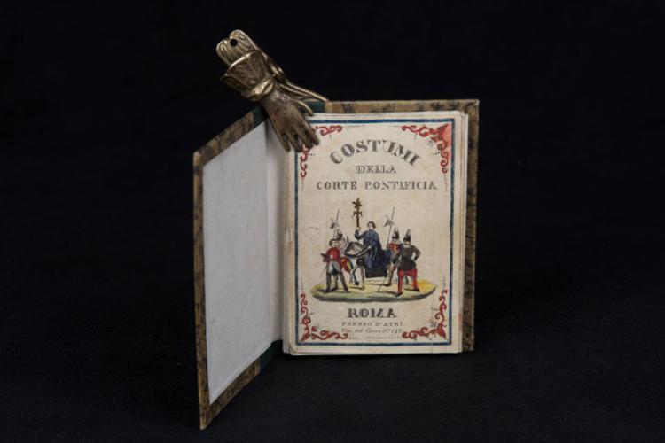 COSTUMI DELLA CORTE PONTIFICIA (1850 circa)