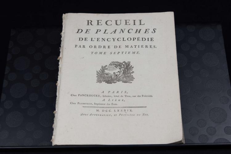 ENCYCLOPEDIE MÉTHODIQUE. BLASON OU ART HÉRALDIQUE (1789)
