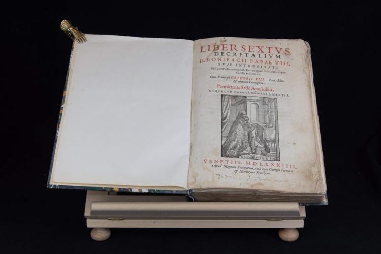 DECRETALIUM D.BONIFACII VIII. / CLEMENTIS V. CONSTITUTIONES
