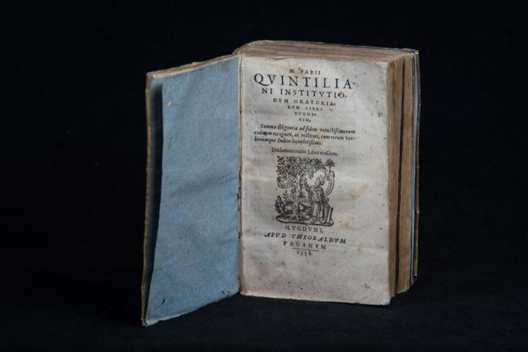 M. FABII QUINTILIANI INSTITUTIONUM ORATORIARUM […]