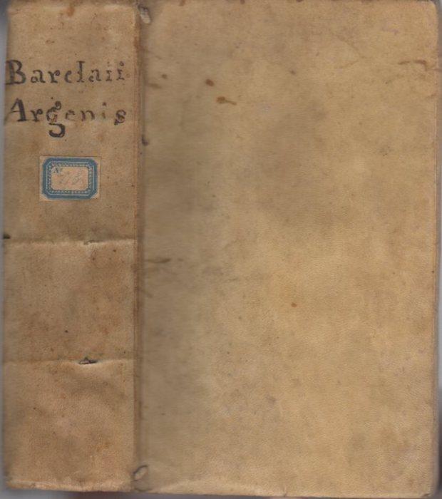 IOANNIS BARCLAII ARGENIS.