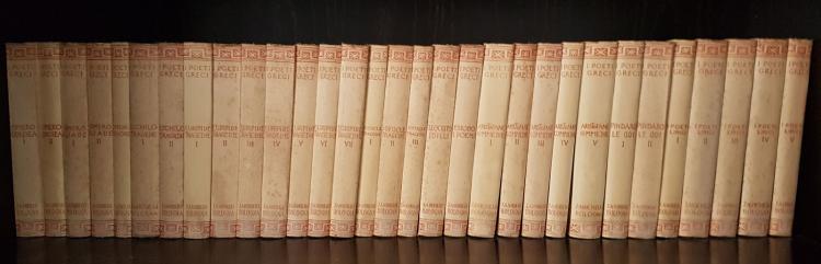 I POETI GRECI Zanichelli 1926