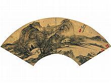 Zhang Hong (1577 - 1652) Figure bleak winter
