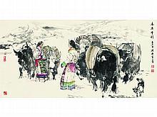 Du Ziling (1941 -) Plateau snow rhyme