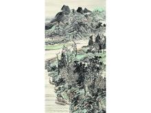 Zhang Fuxing (1946 -) Figure sunny autumn