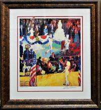 LEROY NEIMAN THE PRESIDENTS BIRTHDAY PARTY LITHO