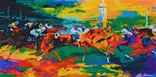 LEROY NEIMAN LITHOGRAPH BREEDERS CUP