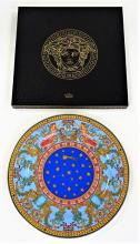 VERSACE ROSENTHAL 1997 LARGE PLATE NEW IN BOX