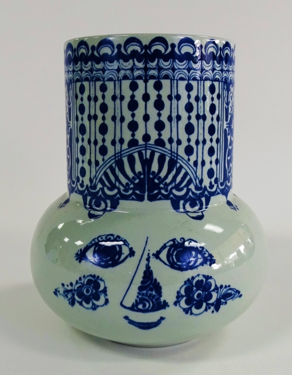 MID C. BJORN WIINBLAD FOR NYMOLLE CERAMIC VASE