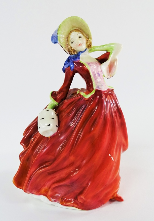 ROYAL DOULTON AUTUMN BREEZES PORCELAIN FIGURINE