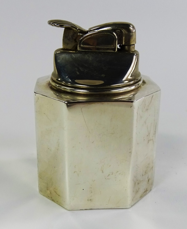 VINTAGE STERLING SILVER J.E CALDWELL TABLE LIGHTER