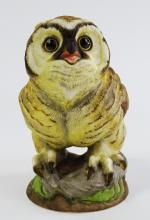 BOEHM PORCELAIN BIRDS FLEDGLING GREAT HORNED OWL