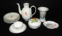 11PCS ASSORTED MEISSEN GERMAN PORCELAIN