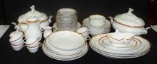 58PCS MEISSEN GERMAN PORCELAIN DINNERWARE