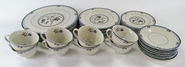 ROYAL DOULTON OLD COLONY CHINA SERVICE FOR 8