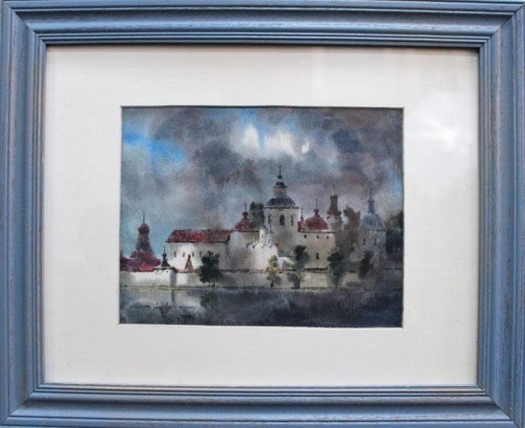 VLADIMIR VLADIMIROV (RUSSIAN1900-1948) WATER COLOR