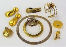 FANCY LOT OF VINTAGE COSTUME JEWELRY INC FORSTNER