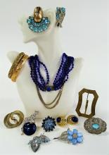 ENTICING LOT OF VINTAGE COSTUME JEWELRY INC KRAMER