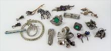 LOT OF VINTAGE COSTUME JEWELRY INC JUDITH JACK