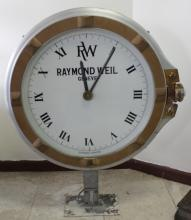 LARGE RAYMOND WEIL CLOCK SWISS MADE
