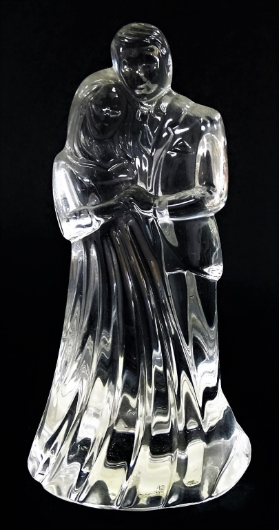 waterford crystal wedding cake topper waterford groom wedding cake topper 21672