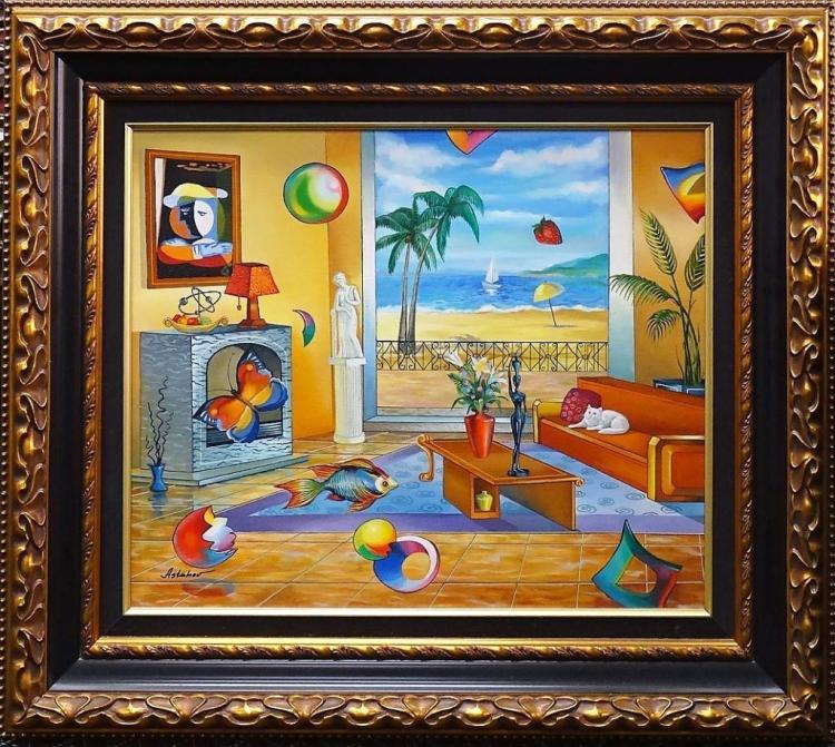 Alexander Astahov Original Oil On Canvas Painting