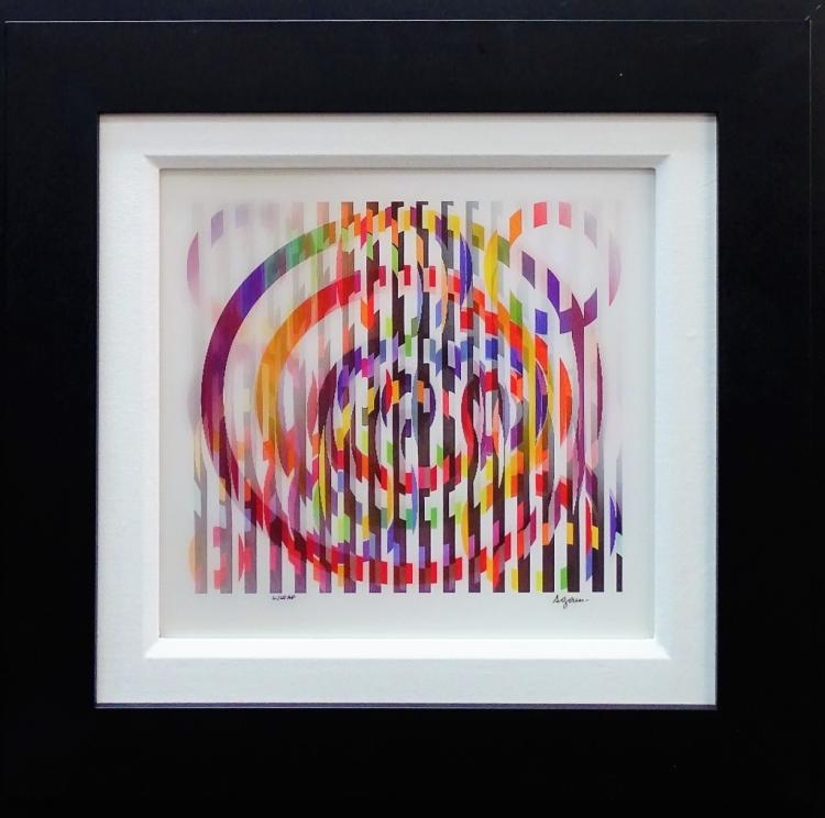 YAACOV AGAM OPTIC ART