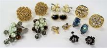 LARGE LOT OF COSTUME EARRINGS
