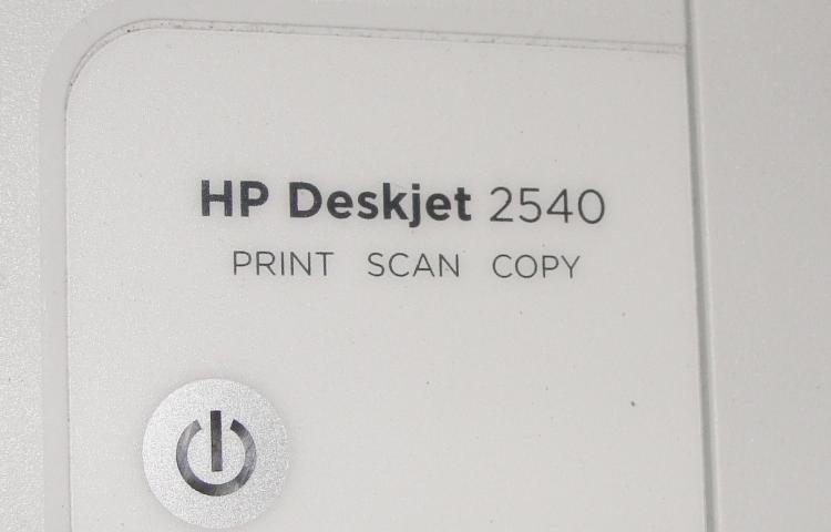 HP printer Deskjet 2540