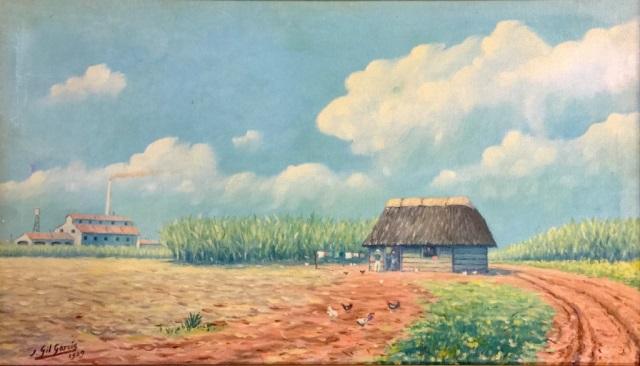 1929 JUAN GIL GARCIA OIL ON CANVAS V$4,500