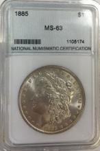 1885 MS-63 COIN
