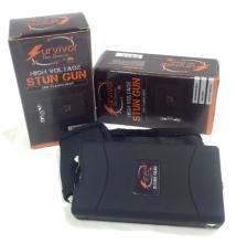 (2) SURVIVOR HIGH VOLTAGE STUN GUNS/FLASHLIGHTS